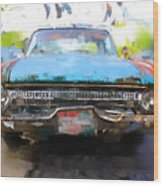 Ford Falcon Wood Print