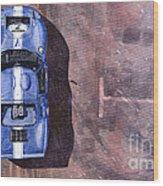 Ford Gt40 Leman Classic Wood Print