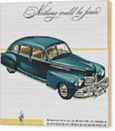 Ford Lincoln Ad, 1946 Wood Print
