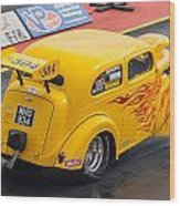 Ford Popular Drag Racer Wood Print
