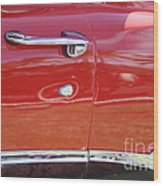 Ford Ranchero Door And Side Panel Wood Print