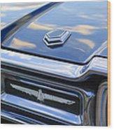 Ford Thunderbird Tail Lights Wood Print