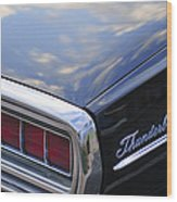 Ford Thunderbird Taillight Wood Print