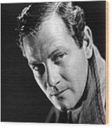 Foreign Correspondent, Joel Mccrea, 1940 Wood Print
