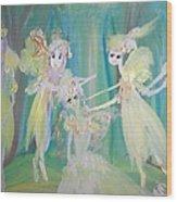 Forest Ballet Wood Print
