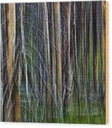 Forest Impression No.119 Wood Print