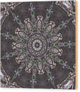 Forest Mandala 3 Wood Print