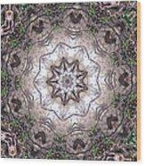 Forest Mandala 4 Wood Print