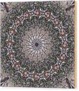 Forest Mandala 5 Wood Print