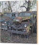 Forever Parked Wood Print