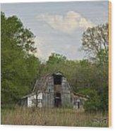 Forgotten Barn 1 Wood Print