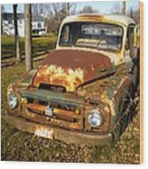 Forgotten Ih Wood Print