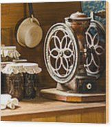 Forgotten Kitchen Of Yesteryear Wood Print by Carolyn Marshall