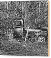 Forgotten Treads Wood Print