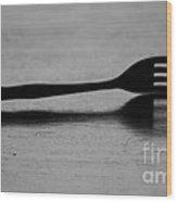 Fork Wood Print