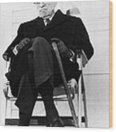 Former President Harry S. Truman Wood Print by Everett