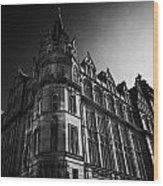 Former Prudential Assurance Building St Andrew Square Edinburgh Scotland Uk United Kingdom Wood Print