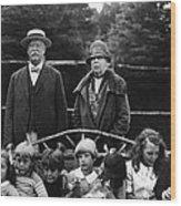 Former U.s. President William Taft Wood Print by Everett