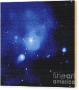 Fornax Galaxy Cluster Wood Print by NASA / Science Source