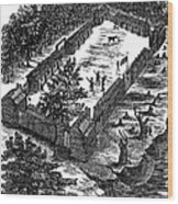 Fort Boonesborough, 1775 Wood Print
