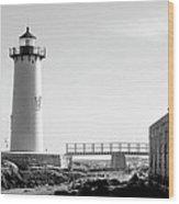 Fort Constitution Light Wood Print
