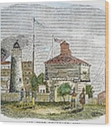 Fort Dearborn, 1830 Wood Print