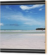 Fort Desoto Beach Wood Print