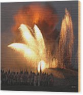 Fort Erie Explodes Wood Print