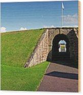Fort George Port Wood Print
