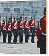 Fort Henry Guards Drill Wood Print