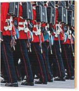 Fort Henry Guards Marching Wood Print