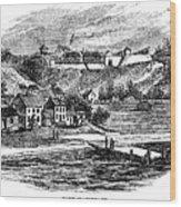 Fort Mackinac, C1814 Wood Print