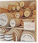 Fort Macon Food Supplies_9070_3759 Wood Print