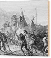 Fort Mckenzie, 1833 Wood Print by Granger