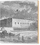 Fort Pulaski, Georgia, 1861 Wood Print
