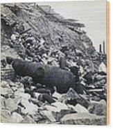 Fort Sumter Civil War Debris - C 1865 Wood Print