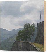 Fort Wall Wood Print