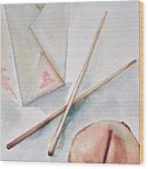 Fortune Cookie Wood Print