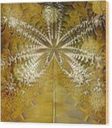 Fossil Gold Wood Print