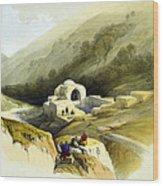 Fountain Of Job Valley Of Hinnom Wood Print