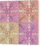 Four Times Four Wood Print