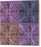 Four Times Four IIi Wood Print
