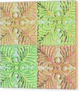 Four Times Four V Wood Print