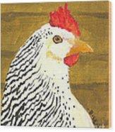 Fowl Mood Wood Print