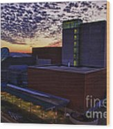 Fox Cities Performing Arts Center Wood Print