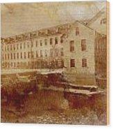 Fox River Mills Wood Print
