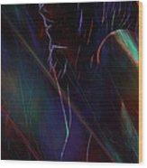 Fractal Girl 2 Wood Print