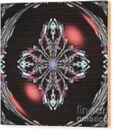 Fractal Illumination Wood Print