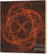 Fractal Image Wood Print