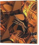 Fractal - Orchestra Wood Print